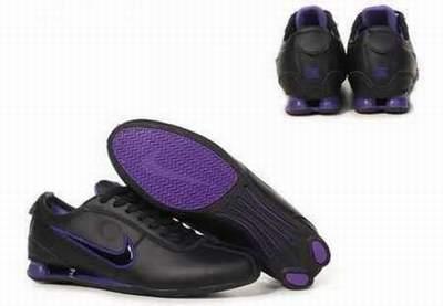 meilleur service 06885 efbaa nike shox noir et violet,chaussures nike shox rivalry homme ...